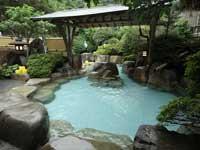 天然温泉をお楽しみください。/
